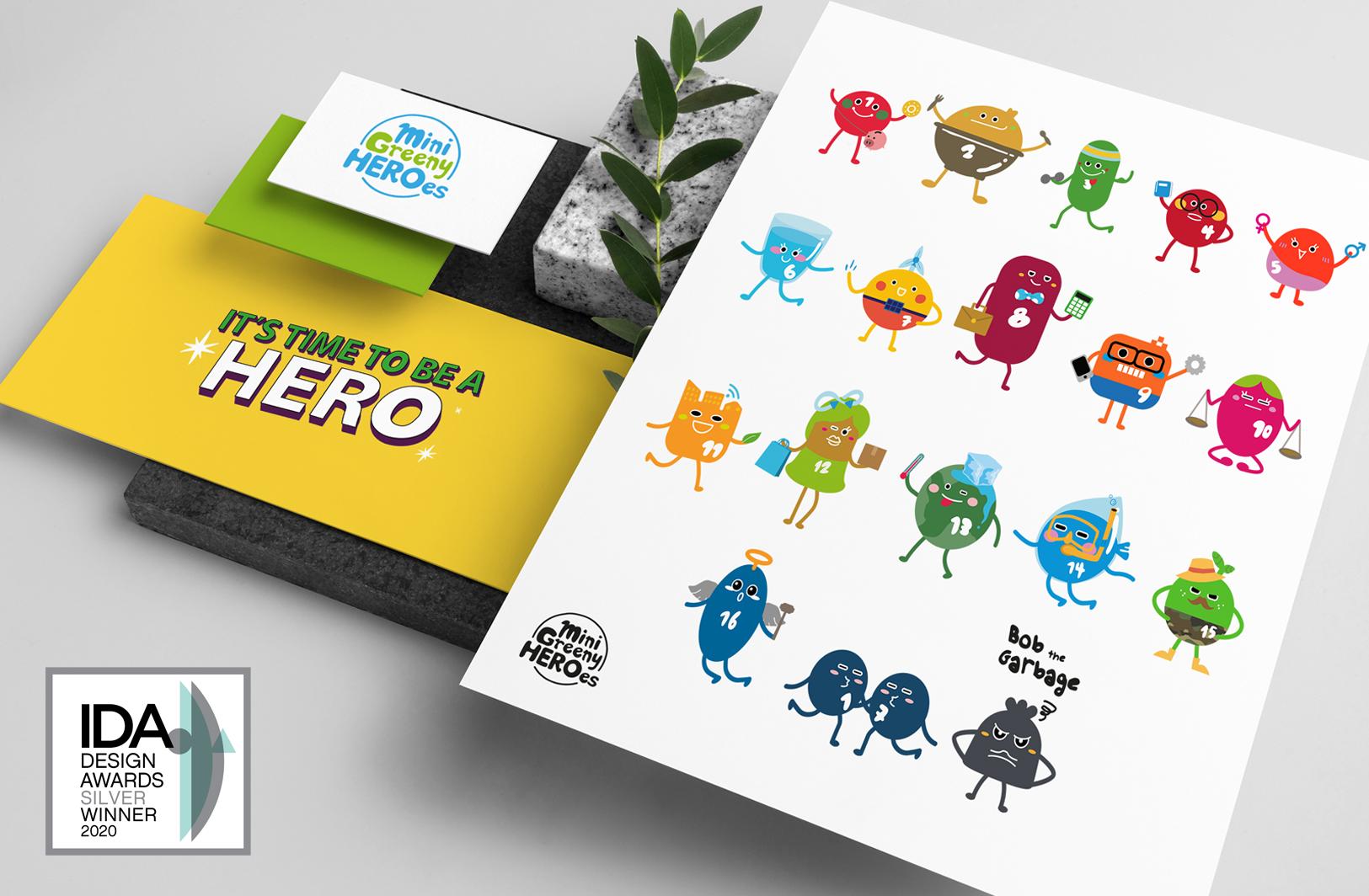 The Mini Greeny Heroes